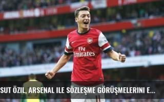 Mesut Özil, Arsenal ile sözleşme görüşmelerini erteledi!
