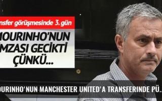 Mourinho'nun Manchester United'a transferinde pürüz çıktı!