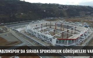 Trabzonspor'da sırada sponsorluk görüşmeleri var...