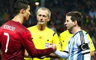 """Ronaldo'dan Messi yorumu! """"Onu ağlarken görmek..."""""""