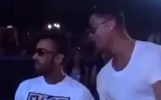 Ronaldo, Jennifer Lopez konserinde böyle coştu!
