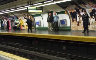 Hayalet tren görenleri şoke etti!