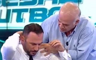 Ertem Şener'in canlı yayındaki zor anları!