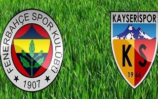Fenerbahçe-Kayserispor | MAÇTAN ÖNEMLİ ANLAR