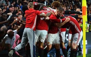 Manchester United gol atınca ortalık karıştı! Ayağı kırıldı...