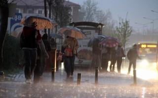Meteoroloji'den 8 il için yağış uyarısı