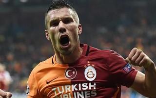 Podolski: 'Eren ve Bruma'nın golleri...'