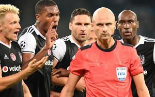 Napoli - Beşiktaş maçında olay penaltı kararları!