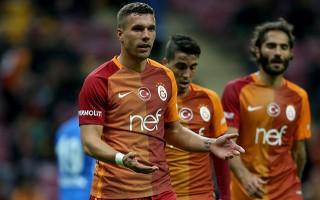Maçın yıldız ismi Podolski'den açıklama!