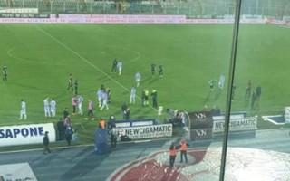 İtalya Serie A maçında deprem şoku! Tribünlerde büyük panik...