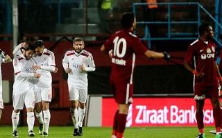 Trabzonspor evinde yıkıldı!
