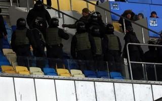 Dinamo Kiev'den o polislere teşekkür!