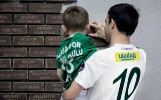 Bursaspor Anı Duvarı'na şehitlerin adı yazılacak
