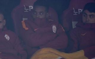 Ozan Tufan Galatasaray kulübesinde!