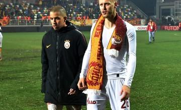 Galatasaray'da iki sakatlık birden!