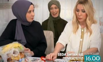 27 Şubat 2020 Seda Sayan ile Yemekteyiz'in yeni bölüm tanıtımı