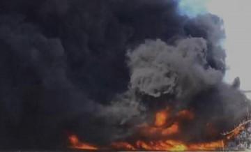 Manisa'da korkutan yangın!
