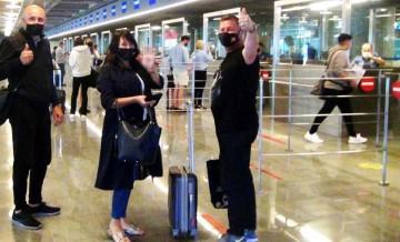 1 yıllık aranın ardından ilk İngiliz turist kafilesi Muğla'ya geldi!