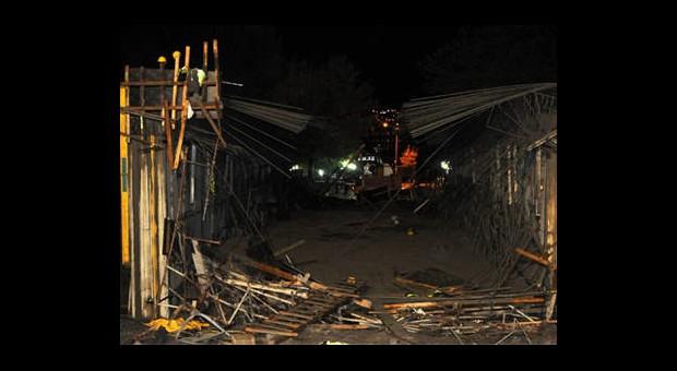 Hızlı Tren Köprü İnşaatı Çöktü