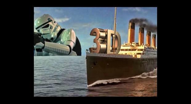 Titanic 3D İle Dalga Geçtiler