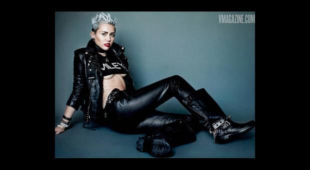 Miley Cyrus'un Bu Pozları Çok Tartışılacak