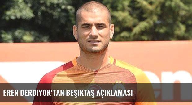 Eren Derdiyok'tan Beşiktaş açıklaması