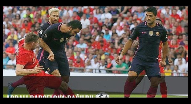 Ardalı Barcelona dağıldı! 4-0...