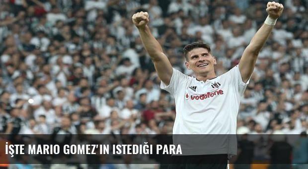 İşte Mario Gomez'in istediği para