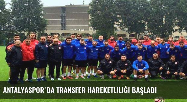 Antalyaspor'da transfer hareketliliği başladı