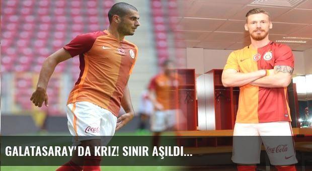 Galatasaray'da kriz! Sınır aşıldı...