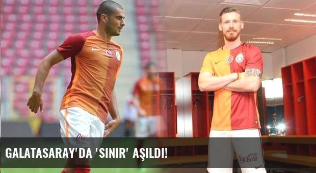 Galatasaray'da 'sınır' aşıldı!