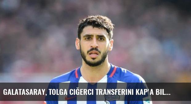 Galatasaray, Tolga Ciğerci transferini KAP'a bildirdi