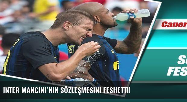 Inter Mancini'nin sözleşmesini feshetti!