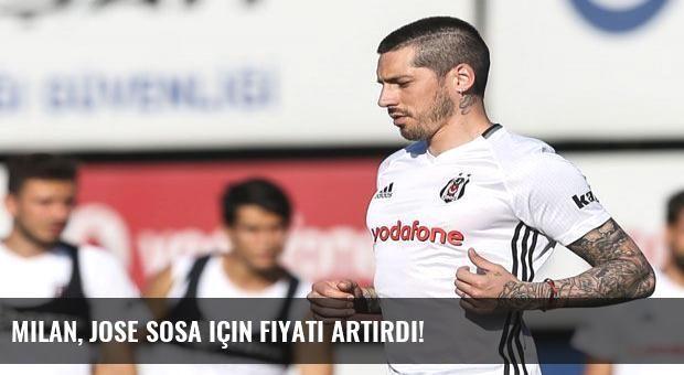 Milan, Jose Sosa için fiyatı artırdı!