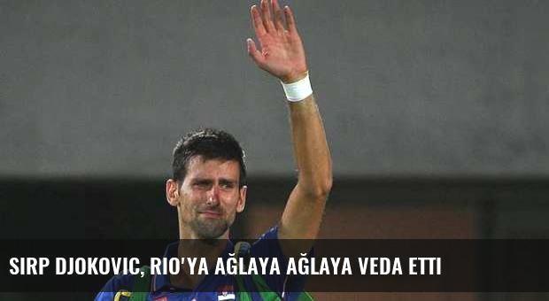 Sırp Djokovic, Rio'ya ağlaya ağlaya veda etti