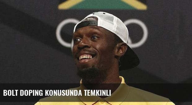Bolt doping konusunda temkinli