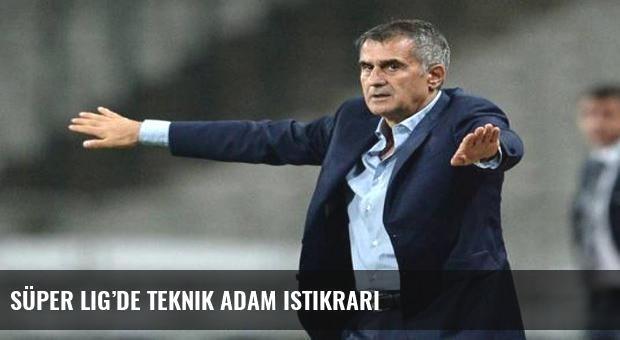 Süper Lig'de teknik adam istikrarı