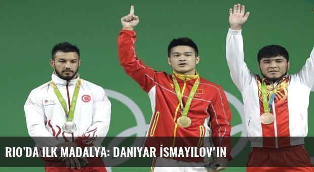 Rio'da ilk madalya: Daniyar İsmayilov'ın