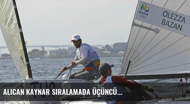 Alican Kaynar sıralamada üçüncü...