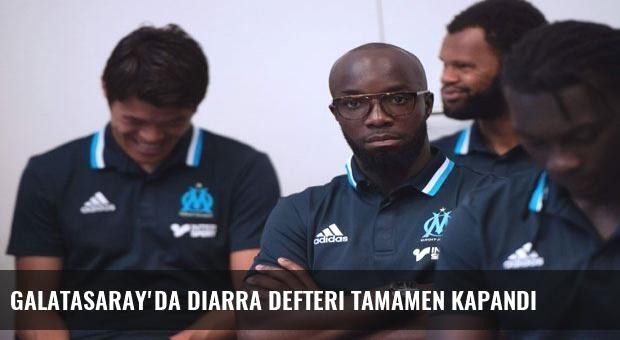 Galatasaray'da Diarra defteri tamamen kapandı