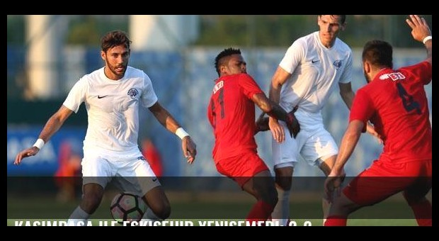 Kasımpaşa ile Eskişehir yenişemedi: 2-2