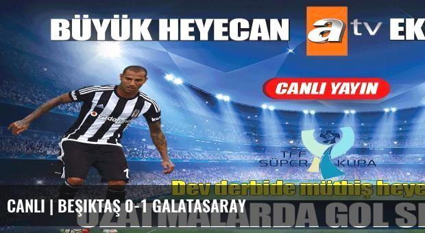 CANLI | Beşiktaş 0-1 Galatasaray