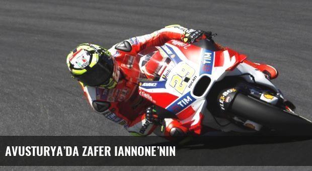 Avusturya'da zafer Iannone'nin