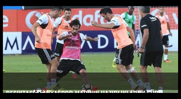 Beşiktaş, Alanyaspor maçının hazırlıklarını sürdürüyor