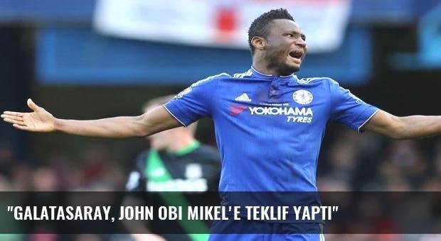 'Galatasaray, John Obi Mikel'e teklif yaptı'