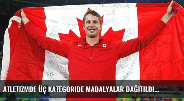 Atletizmde üç kategoride madalyalar dağıtıldı