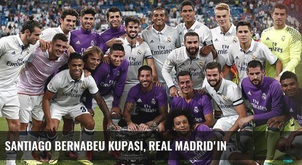 Santiago Bernabeu Kupası, Real Madrid'in