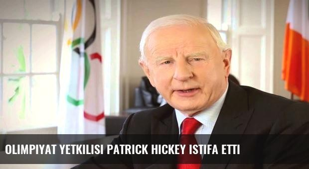Olimpiyat yetkilisi Patrick Hickey istifa etti