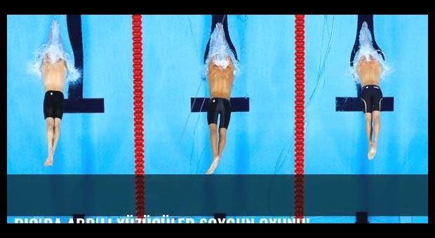 Rio'da ABD'li yüzücüler soygun oyunu!