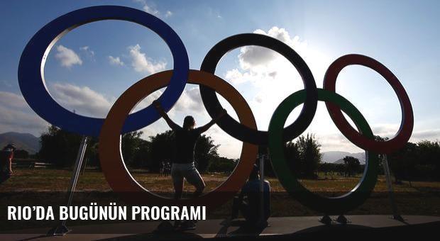 Rio'da bugünün programı